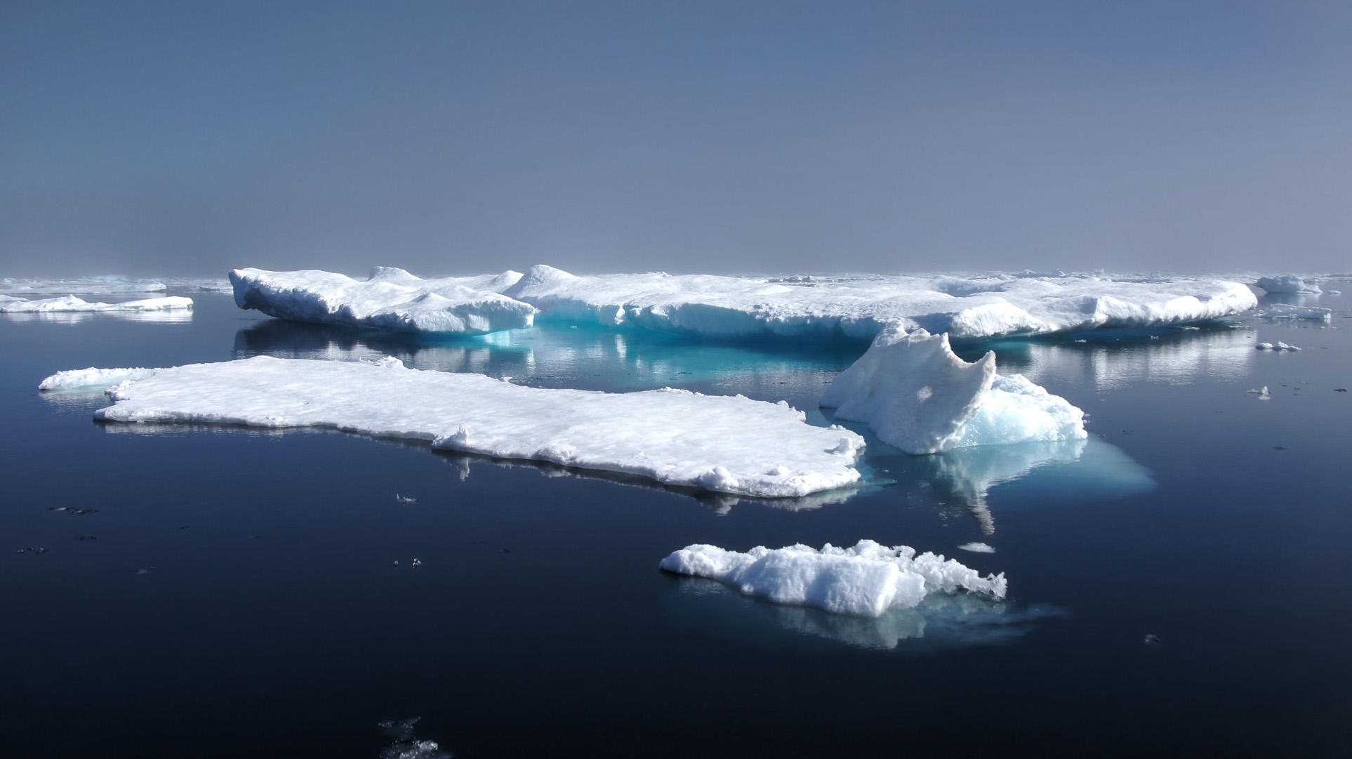 какое место занимает северный ледовитый океан